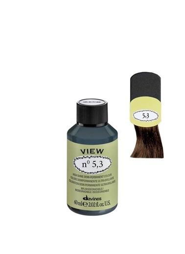 Davines Davines View Yarı Kalıcı Saç Boyası 5,3 Açık Altın Kavhe 60 Ml Renksiz